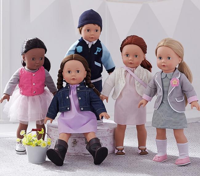 Pottery Barn Kids Clothing Line: Pottery Barn Kids Götz Doll Collection