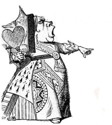 alice red queen tenniel